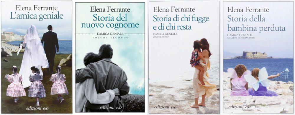 Ciclo L'Amica Geniale Elena Ferrante